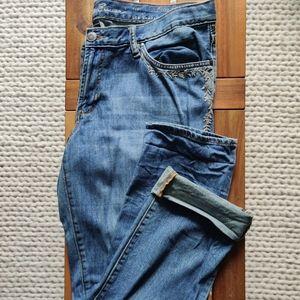 Eddie Bauer Relaxed Boyfriend Jeans Sz 12